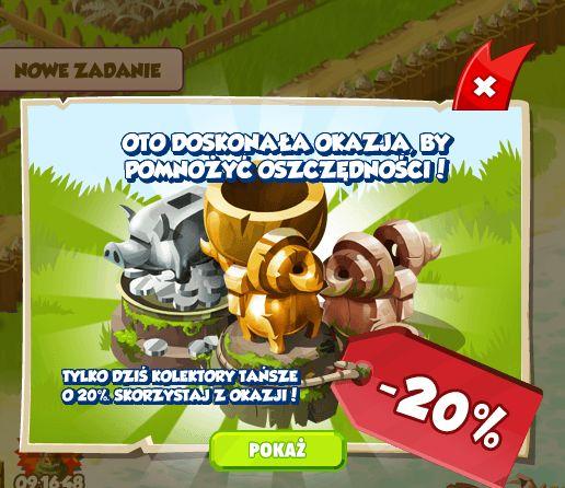 Promocja na kolektory w Wesołej Osadzie http://grynank.wordpress.com/2013/10/18/promocja-na-kolektory-w-wesolej-osadzie/ #gry #nk #wesołaosada