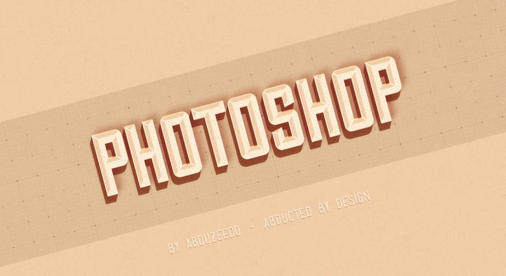 Hipster Text Effect in Photoshop CS6 | Abduzeedo Design Inspiration & Tutorials