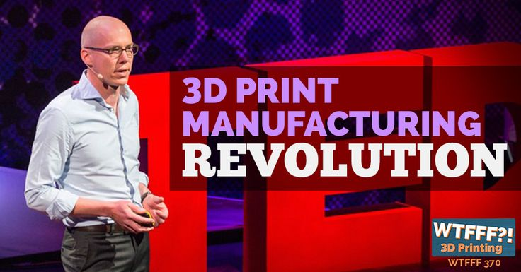 3D Printing Manufacturing Revolution