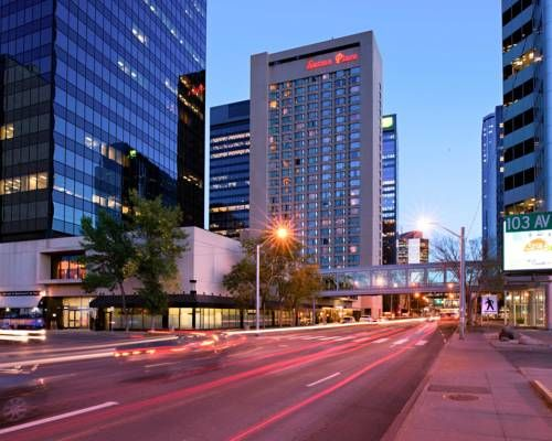 The Sutton Place Hotel Edmonton Alberta Attached To 5 Major Office Towers And City Centre Mall Which Offers Over 400 S