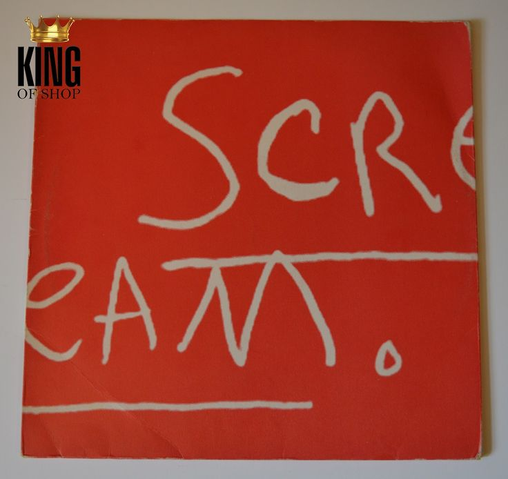 """We just added over 10 new items on King of Shop like this UK 212"""" Promo of Scream! Get them fast!  http://www.king-of-shop.com/product/scream-uk-promo-2x12/"""