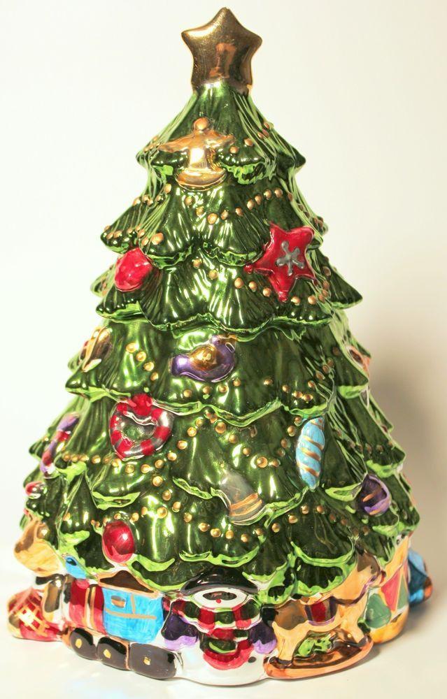 330 best Christmas ♢ Cookie Jars I images on Pinterest ...