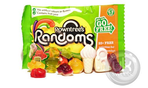 Rowntrees Randoms. Visit our online shop - we deliver all over Australia! Great prices, great service and an amazing range of English Sweets & Lollies. www.uksweets.com.au
