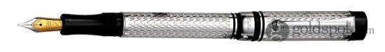 Laban Germana Diamond Pattern Medium Point Fountain Pen