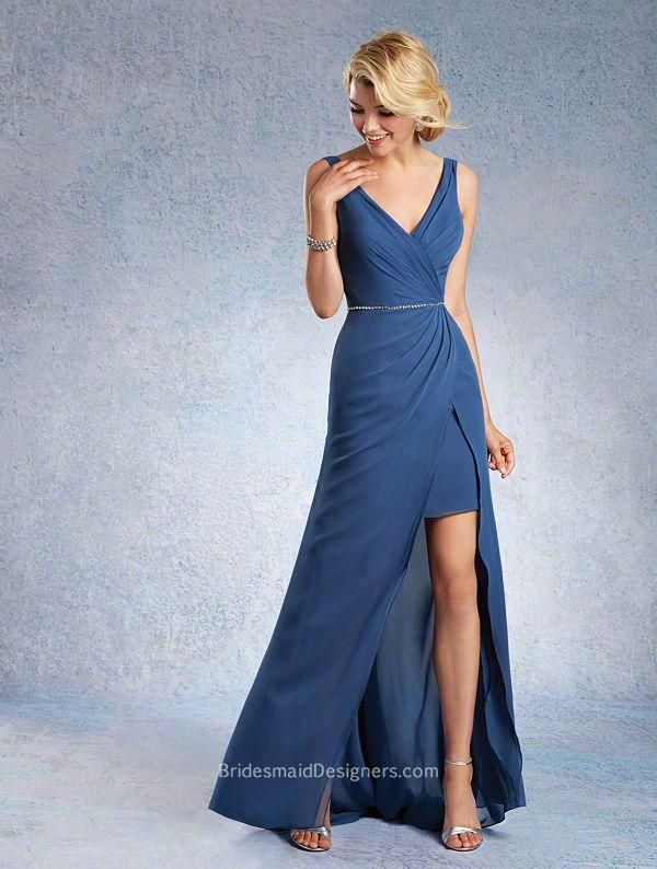 Look Slim with Chiffon Bridesmaid Dresses