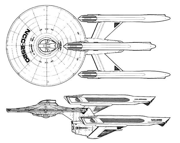 ascension class dreadnaught refit starfleet in late 23rd