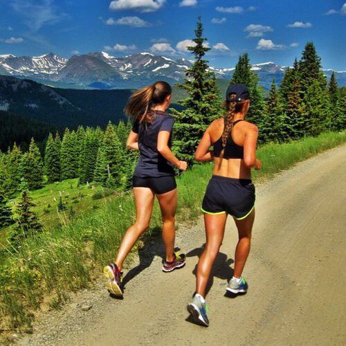 Running with a friend is the best therapy...