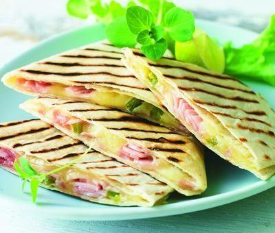 Recept - Quesadillas se šunkou a sýrem