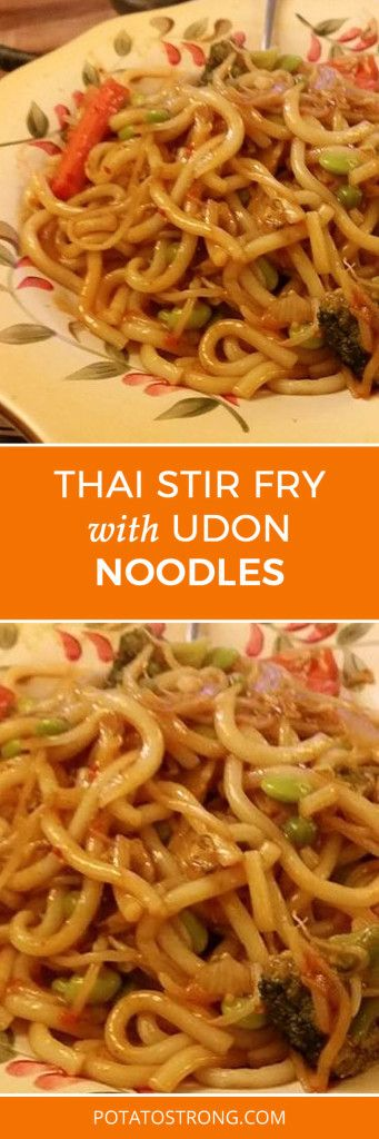 Thai Stir Fry With Udon Noodles
