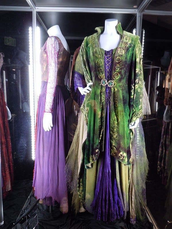 """From """"Hocus Pocus"""" (1993) worn by Bette Midler as Winifred Sanderson design by Mary E. Vogt"""