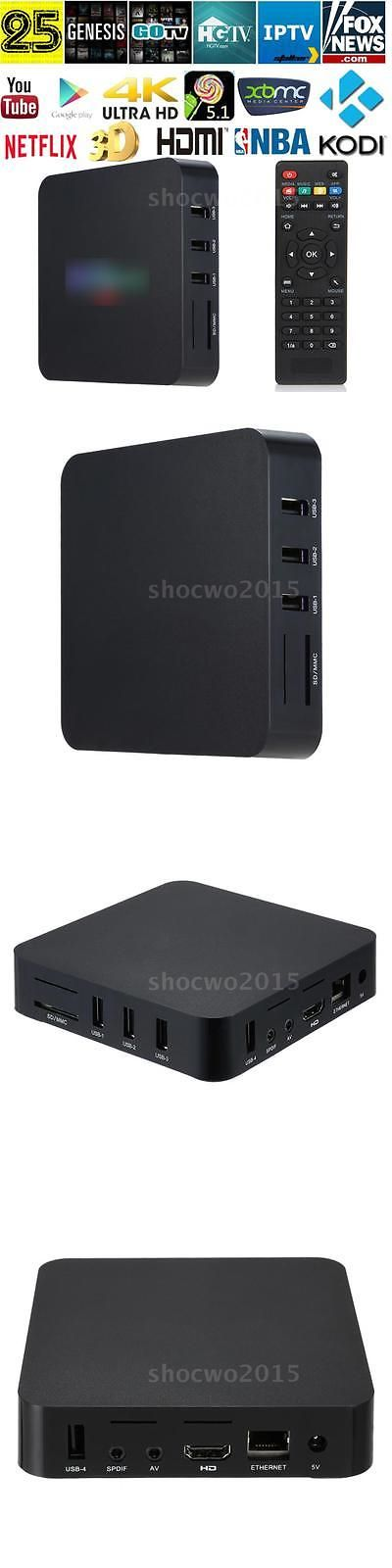 Internet and Media Streamers: Android 6.0 Tv Box S905x 4K Digital Tv Streaming Box Quad Core Wifi Media Player -> BUY IT NOW ONLY: $35.68 on eBay!
