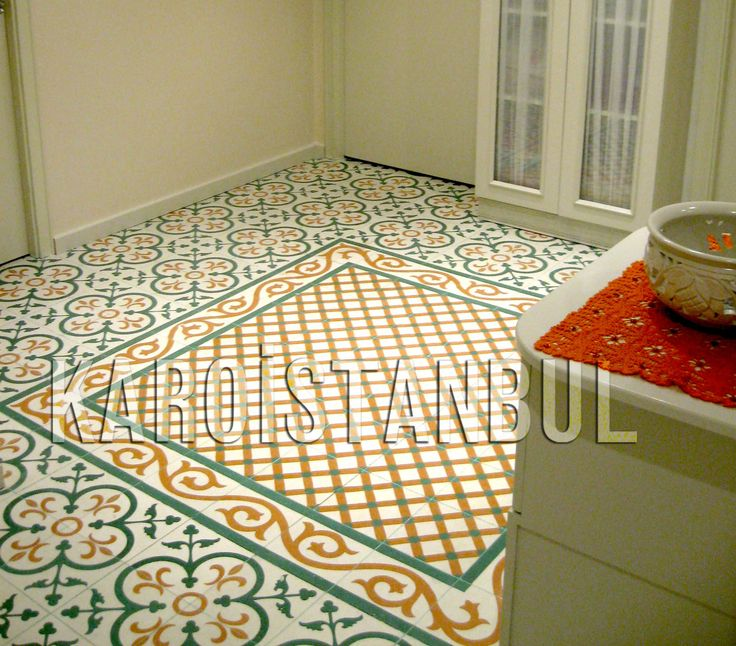Encaustic Cement Tile. Tiles in the Turkish press Karoistanbul
