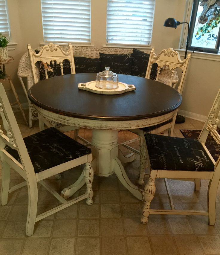 Diy Painting Kitchen Table And Chairs: 1000+ Ideas About Chalk Paint Table On Pinterest