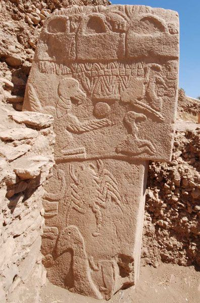 Gobekli Tepe- earliest human temple, Turkey BC 11000 years...