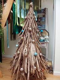 3D Bark Christmas Tree standing