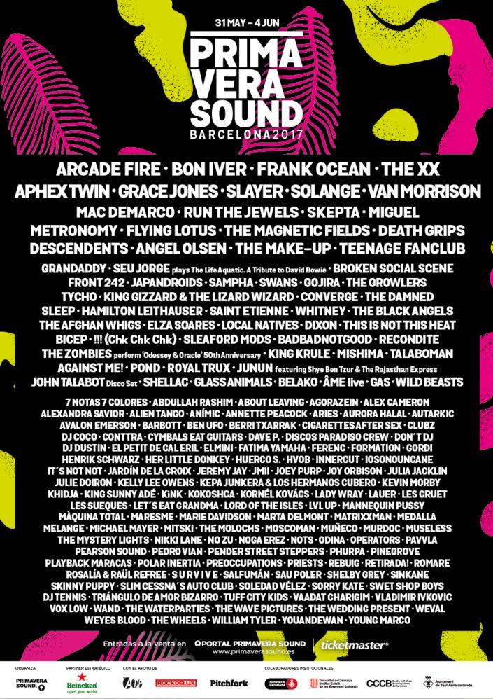 Primavera Sound confirma a The XX, Frank Ocean, Aphex Twin, Solange