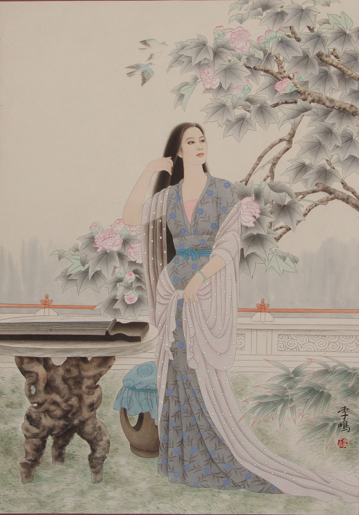 Chinese Beauty 4: Asian Inspiration, Chine Art, D Extrêm Oriental, Ancient Beautiful, Hanfu Race, Chinese Hanfu, Beautiful Art, Asian Art, Chine Beautiful