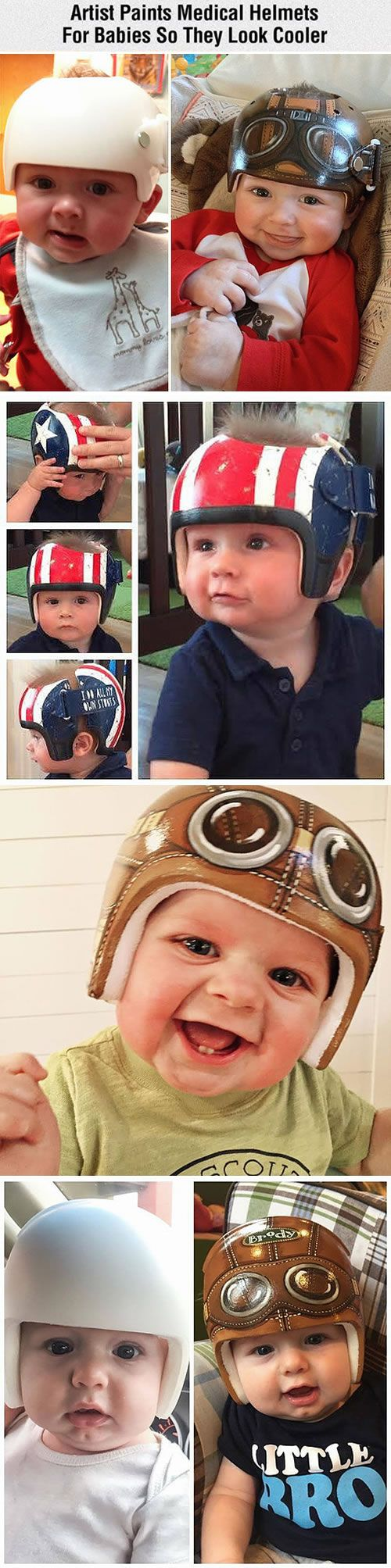 Artist Paula does love kids. She has already been decorating baby helmets for 12+ years and have painted over 2300 of them. Those beautiful and cool medical helmets can really comfort your baby in the hospital. See more of her wonderful jobs: on Smugsmug and Facbook