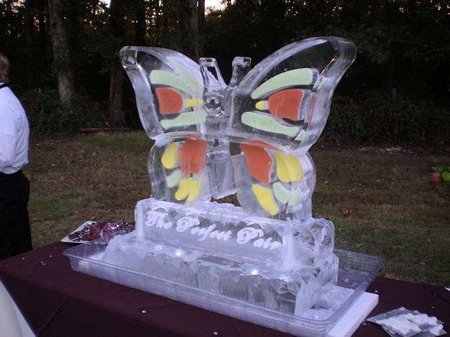 Atlanta Ice Sculptures - Butterfly
