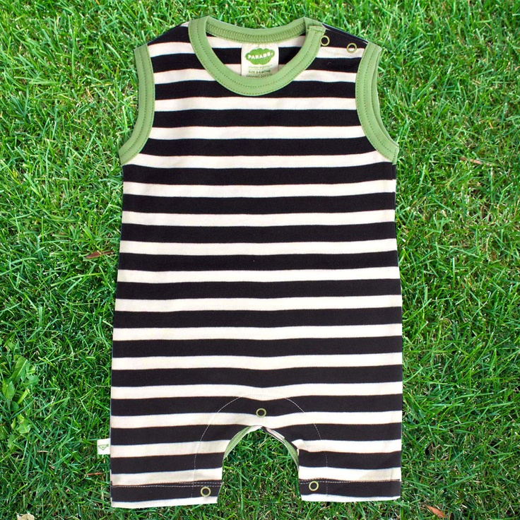 Tank Romper Stripes