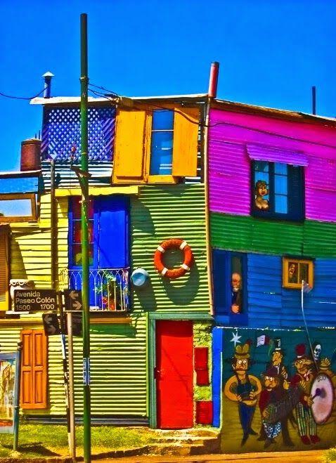 house in La Boca, Buenos Aires