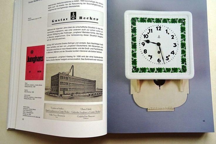 Wilhelmsburger Steingut Fabrik Junghans Becker Kienzle Mauthe Tesar kuk Uhren    eBay