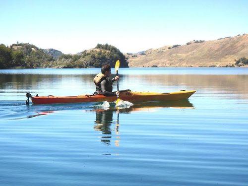 Kayak the Coyhaique Lakes