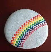 ... painting art rainbows decoration photos rocks ps stones paintings