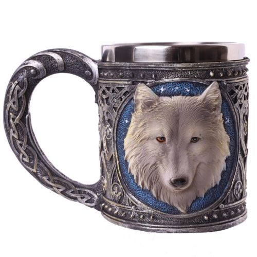 Fantasy Wolf Tankard