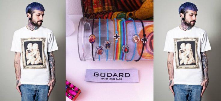 Mode femme - GODARD #look #garçon #bracelets #gift #Godard