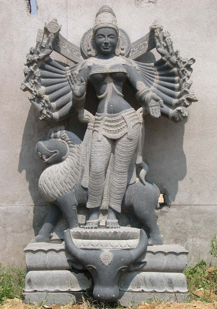 View the Custom Durga with 18 Arms