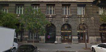 Szabadság Square 16, Budapest, Zoltán Street side