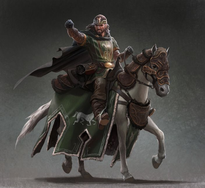 Éothéod (eredeti: Eorl the young on horseback - LOTR Wikia)