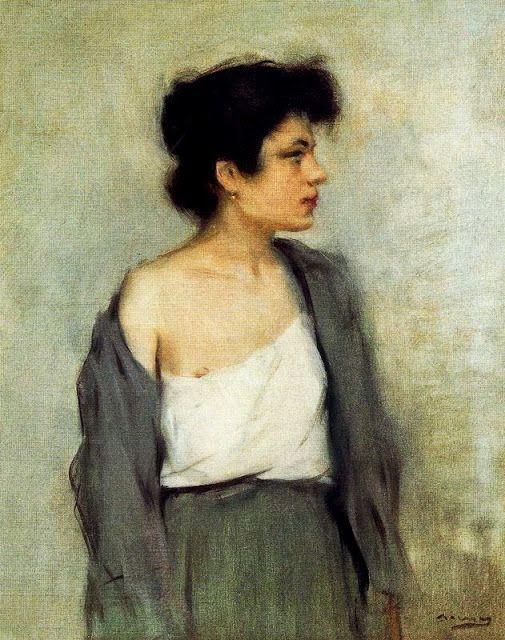 Figura Femenina- Ramón Casas i Carbó