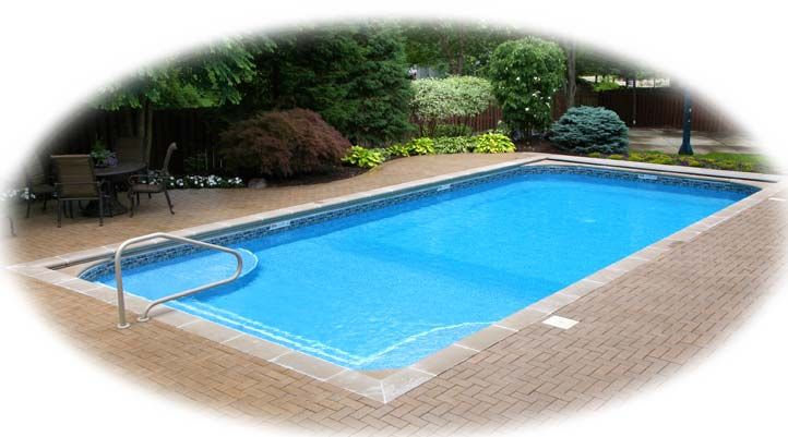 Rectangle In-ground Pool Kits - Arthurs Pools