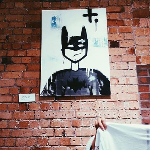 batman is leaving the building @federationboutiques @some.kind : congratulations on your new home and we will miss your face +. #federationc