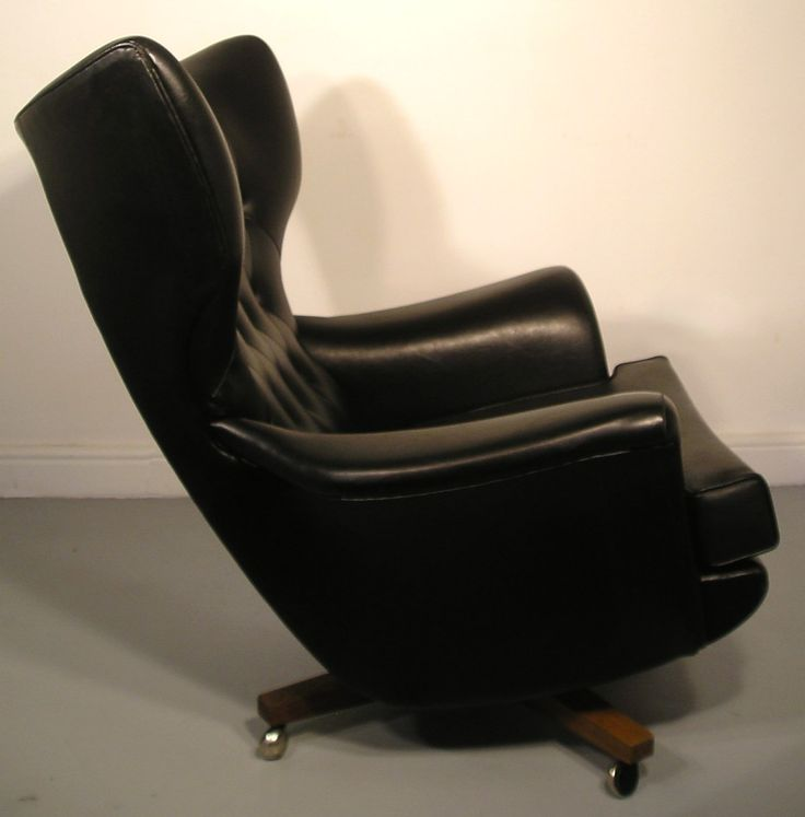 Cool Mid Century G Plan Worlds Most Comfortable Chair With Black Leather  Vintage Swivel Armchair And22 best G plan 6250 images on Pinterest. Most Comfortable Swivel Chairs. Home Design Ideas