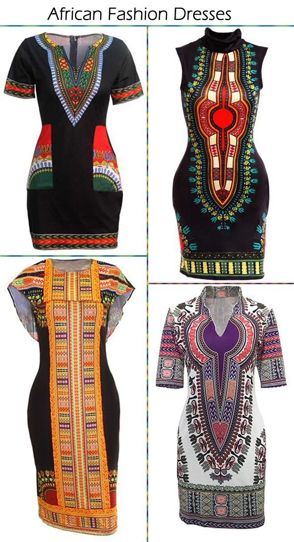 African Dashiki Fashion Dresses Sale On Lulugal.com