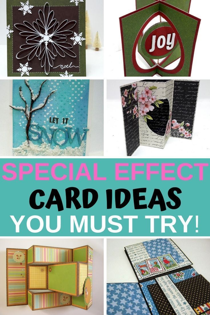 How To Make Amazing Cards With Easy Special Effects Paper Craft Tutorials Handmade Cards Diy Simple Cards
