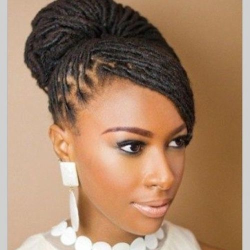 Long Locs Black Women Natural Hairstyles Loc Hairstyles For Long ...