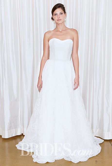 Brides.com: . Wedding dress by Judd Waddell