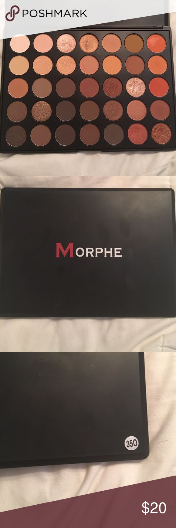 MORPHE 350 palette. Original Morphe 350 palette. Used only a couple of times but still loads of product!!! My renaissance palette has replaced this palette basically. NO TRADES. PRICE FIRM Morphe Makeup Eyeshadow