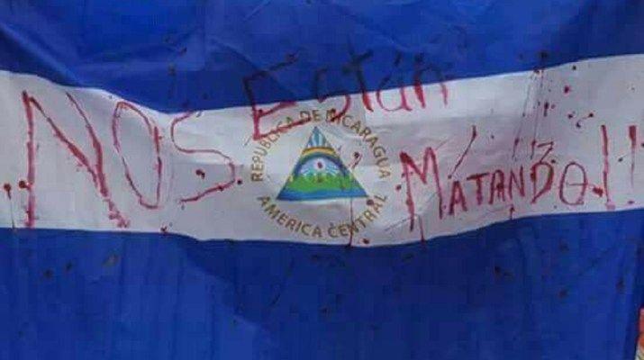 bandera de nicaragua y significado
