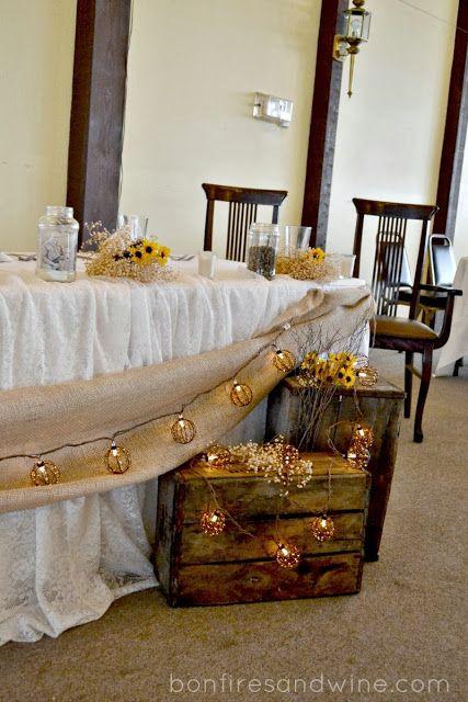 Brie's Rustic Wedding {Burlap