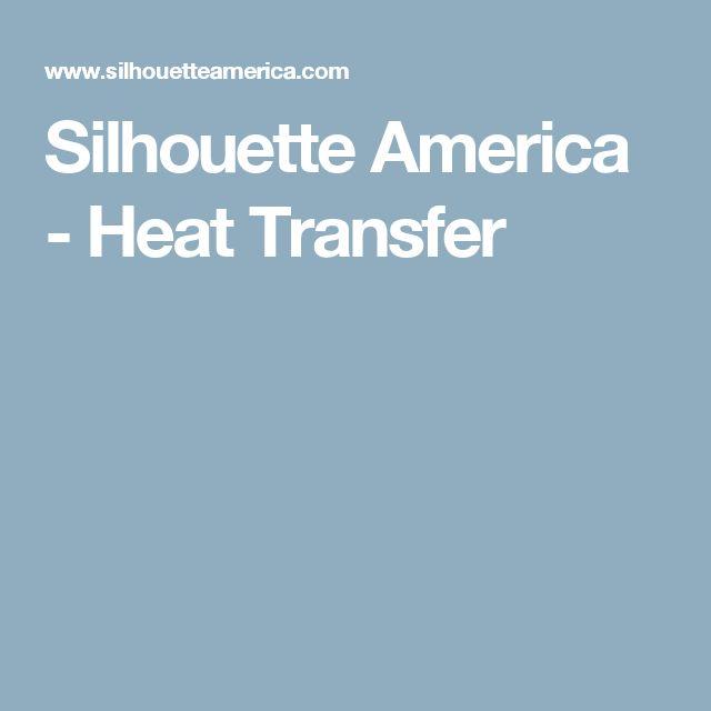 Silhouette America - Heat Transfer