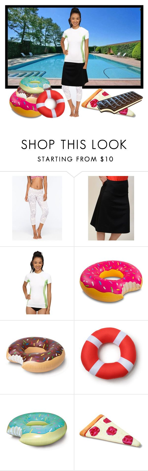 """""""{Day 6: Pool}"""" by maggiesmelody ❤ liked on Polyvore featuring O'Neill, Undercover Waterwear, INC International Concepts, Big Mouth, women's clothing, women, female, woman, misses and juniors"""