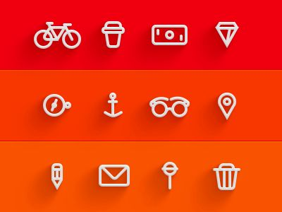 Story Icons #lined #icons