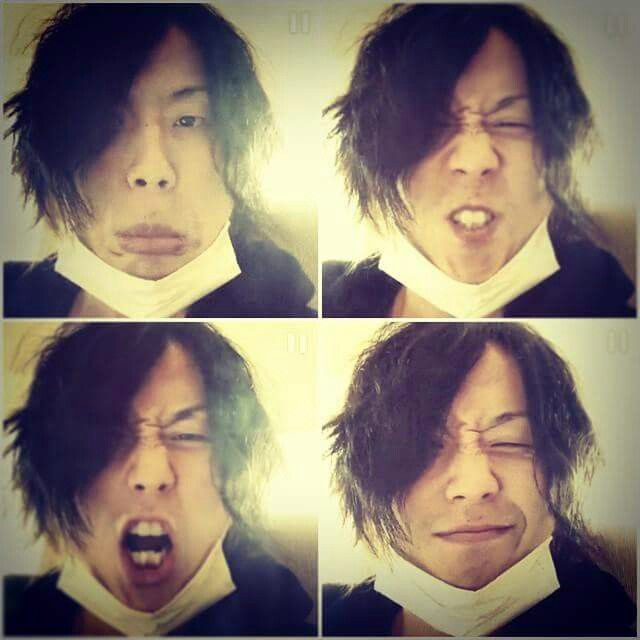 Very funny.very happy. Tomoya kanki. From one ok rock.