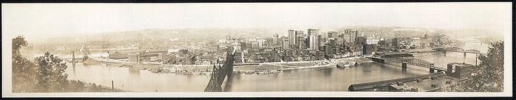 Pittsburgh - panorama from 1920