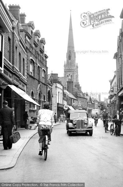 Huntingdon, High Street c.1955, from Francis Frith